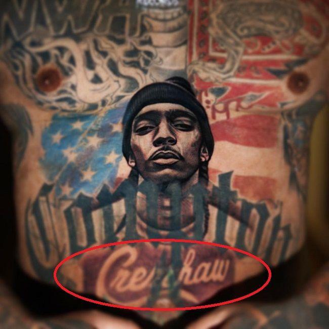 The Game-crenshaw tattoo