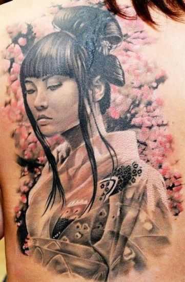 The geisha warrior