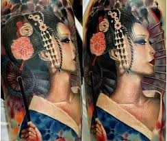 colored upper arm