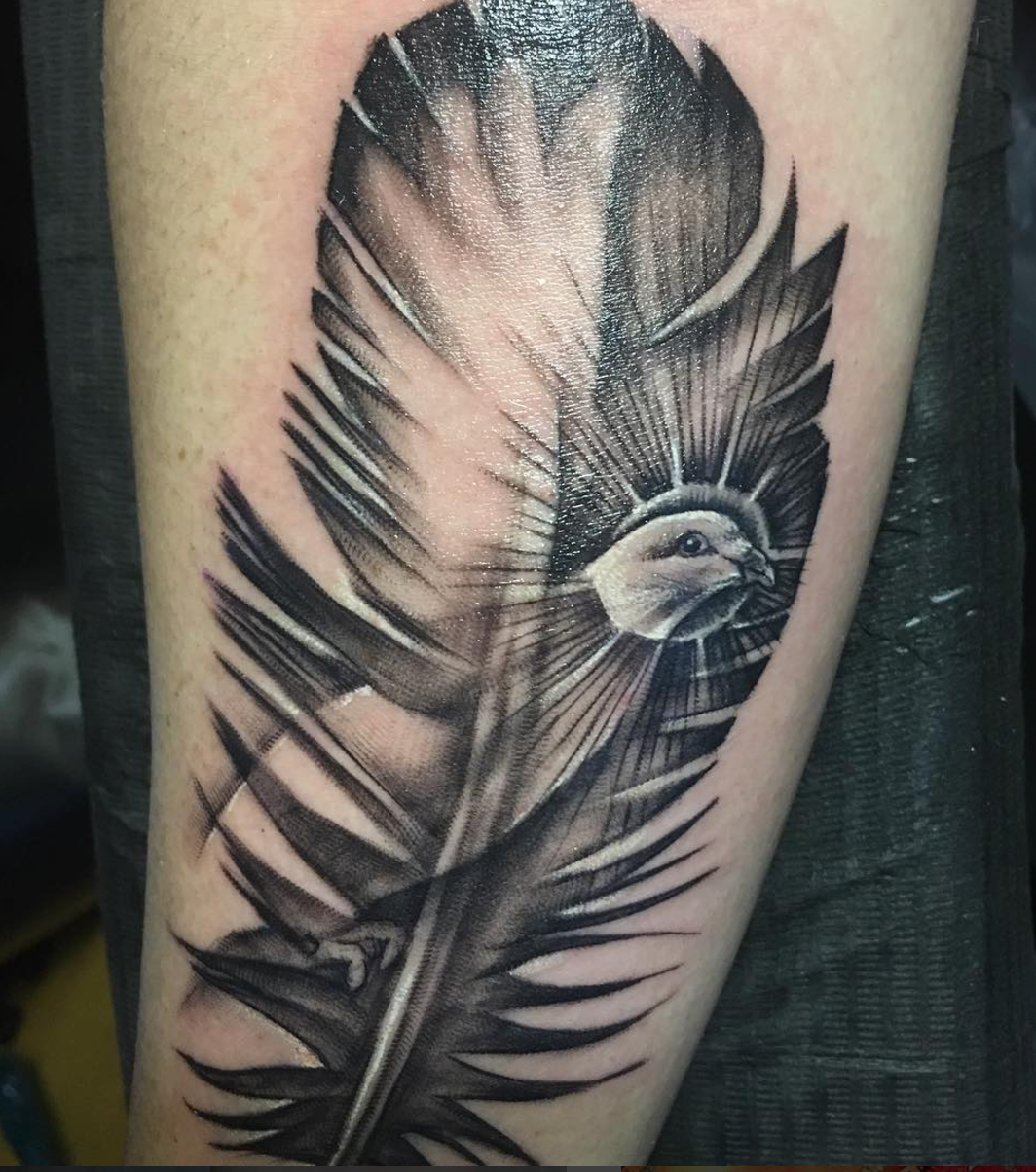 dove tattoo