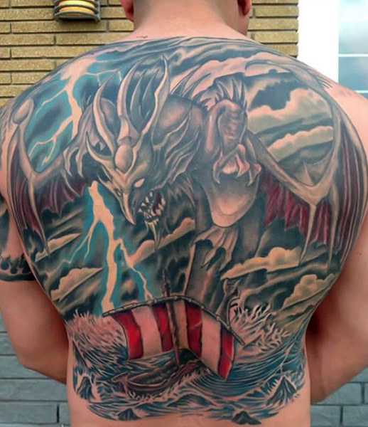 thunder tattoo