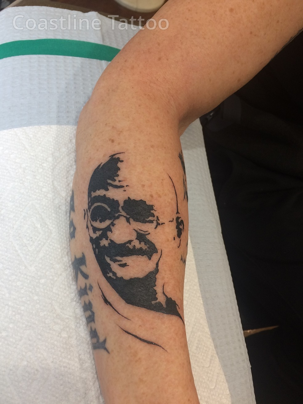 gandhi tattoo