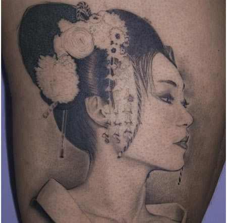 geisha tattoos tattoo pics
