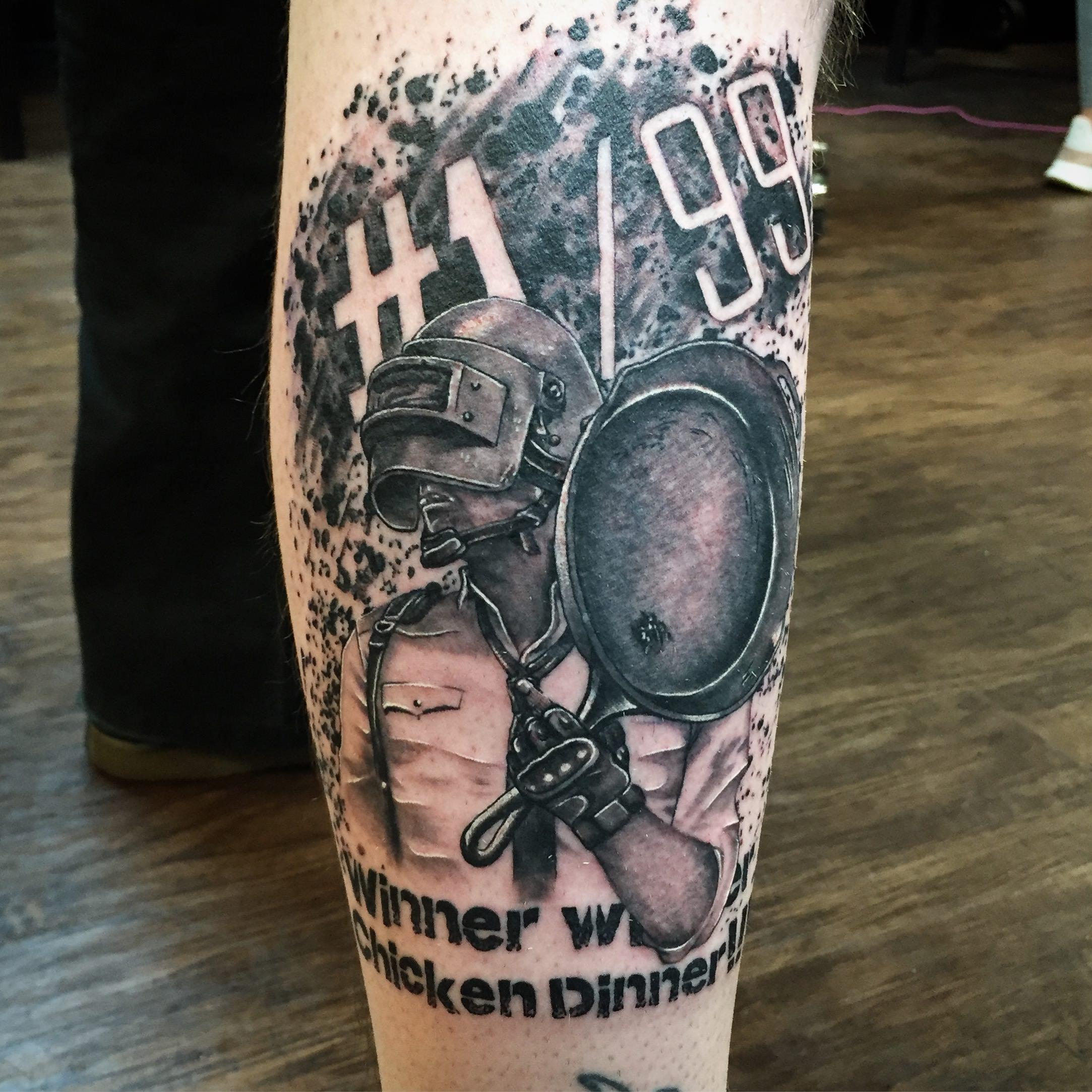 Pubg tattoo