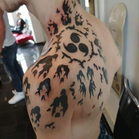 sasuke tattoo