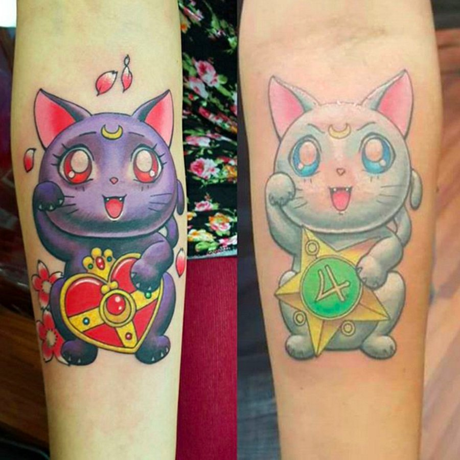 Sailor Moon Tattoo