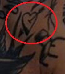 Anders Gran Broken Heart Tattoo