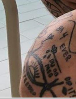 Anders Gran Left Knee Tattoo