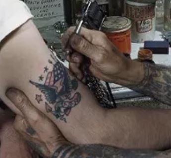 Anders Gran Left Hand Tattoos