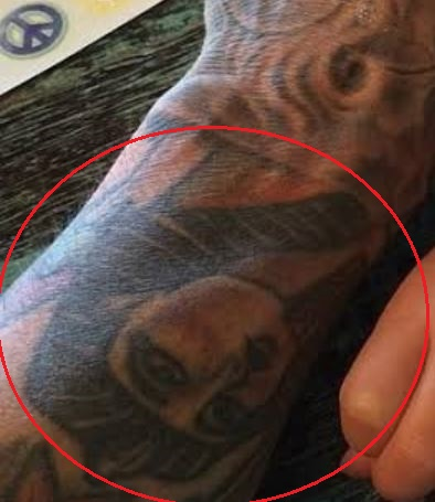 Carey Hart mummy tattoo