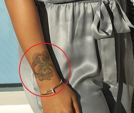 Everapper flower tattoo
