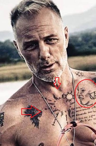 Gianluca Vacchi suns mom tattoo