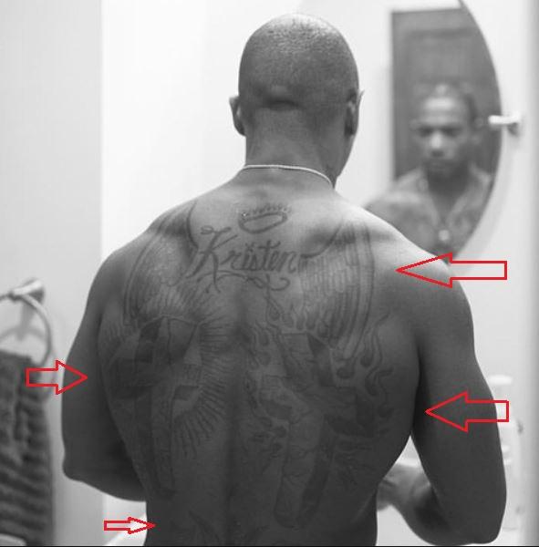 Ja Rule back tattoo