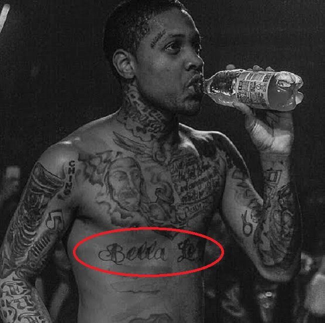 Lil durk-bella lolo tattoo