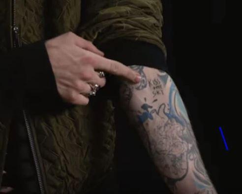 MGK KISS THE SKY Tattoo