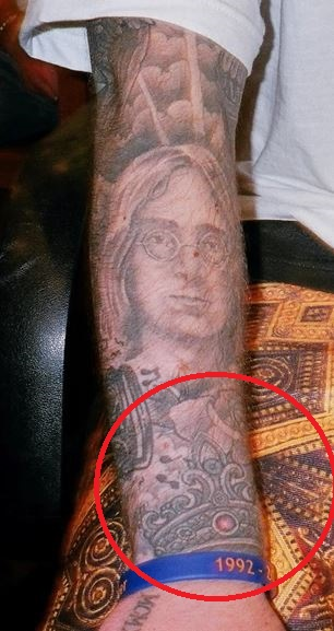Mac Miller Crown Tattoo