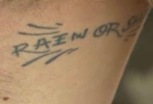 Mac Miller RAIN OR SHINE Tattoo