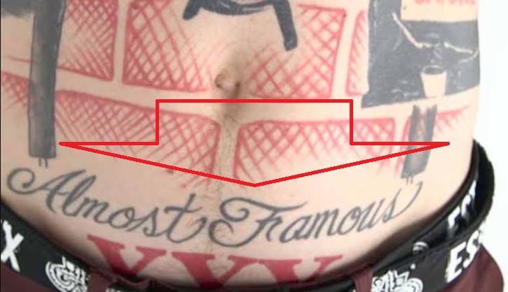 Machine Gun Kelly ALMOST FAMOUS Tattoo