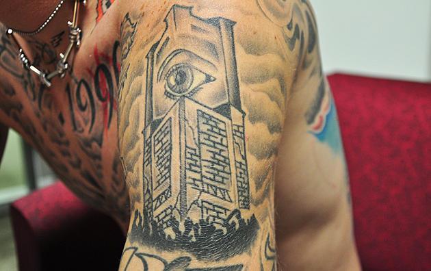Machine Gun Kelly Big Brother Eye Tattoo
