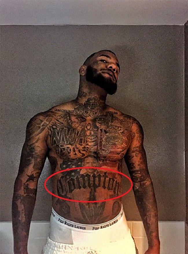The Game-Compton tattoo