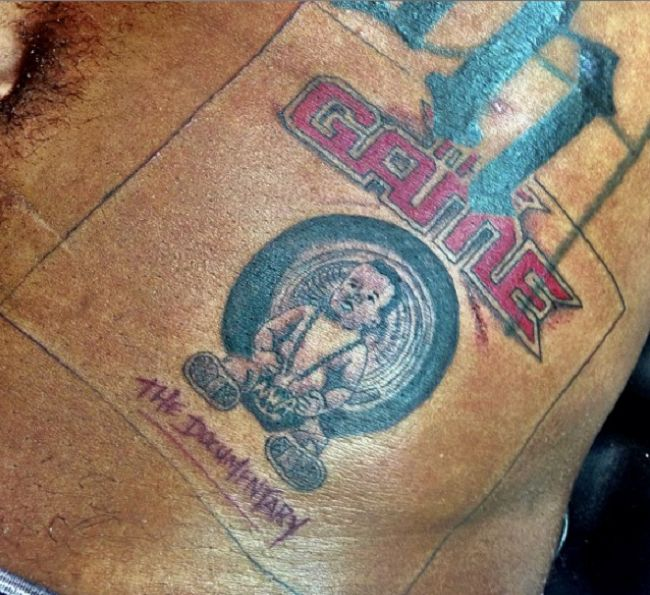 The Game-The documentary tattoo