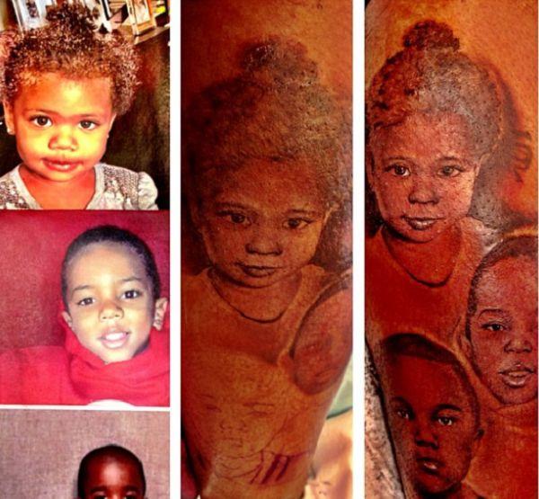 The Game-children tattoo