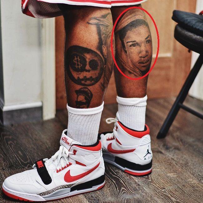 The Game-trayvon martin tattoo