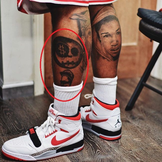 The game-unidentifed tattoos