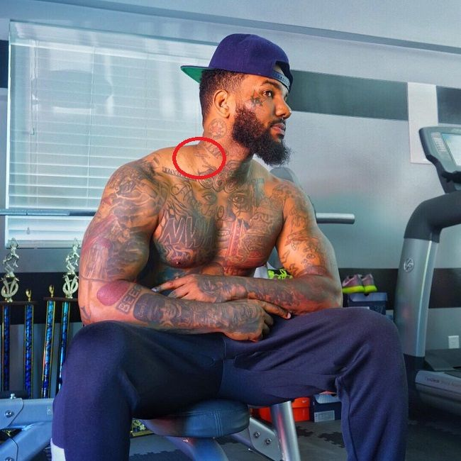 The game-unidentified tattoo