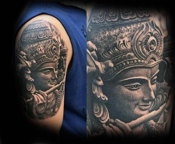 Lord krishna Tattoo