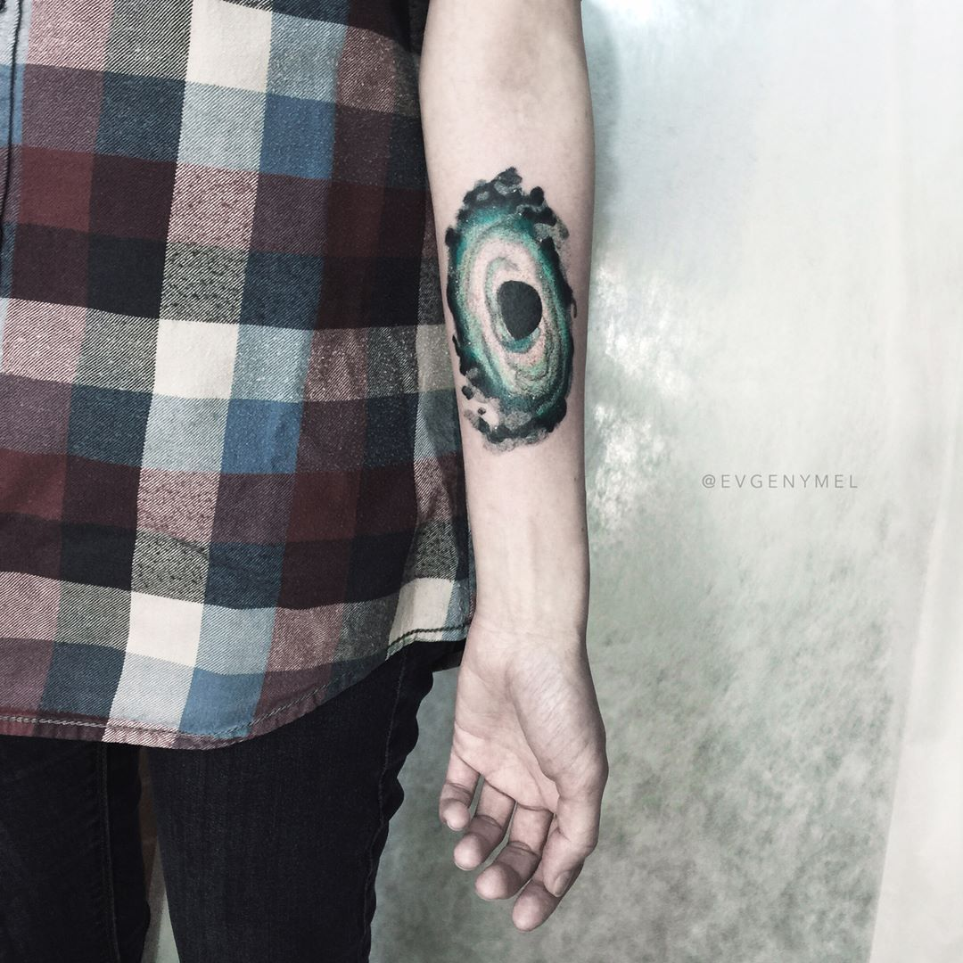 black hole tattoos