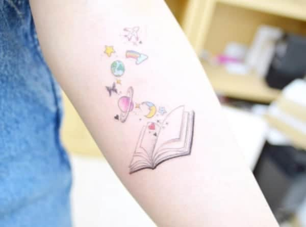 150 Literary Tattoos Only Bookworms Will Get Body Art Guru