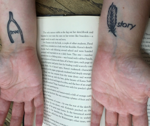 LITERARY TATTOOS