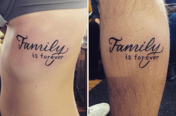 father daughter tattoos