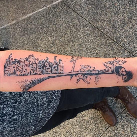 literary tattooos