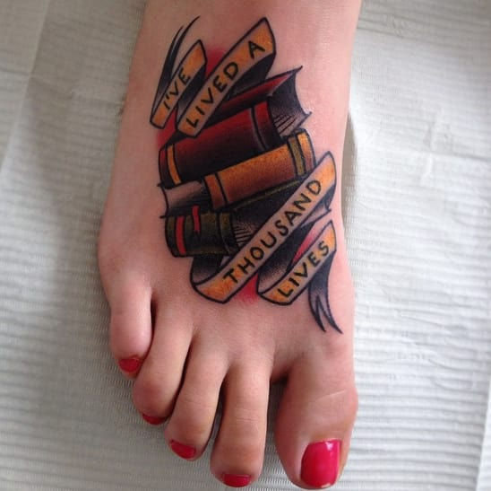 literary tattooos