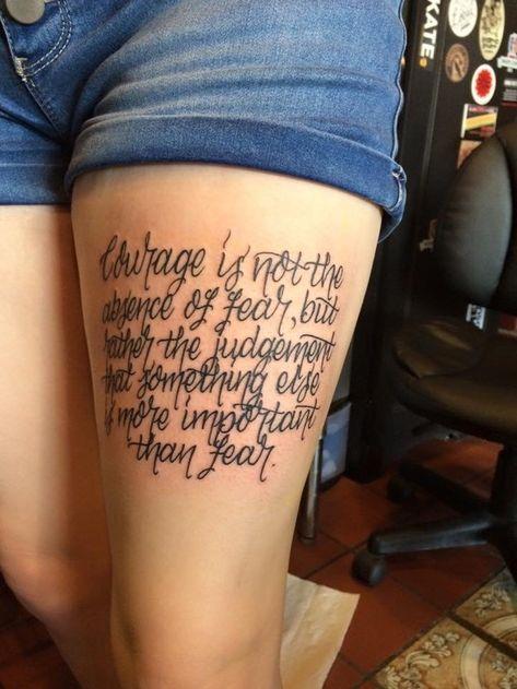 literary tattoo