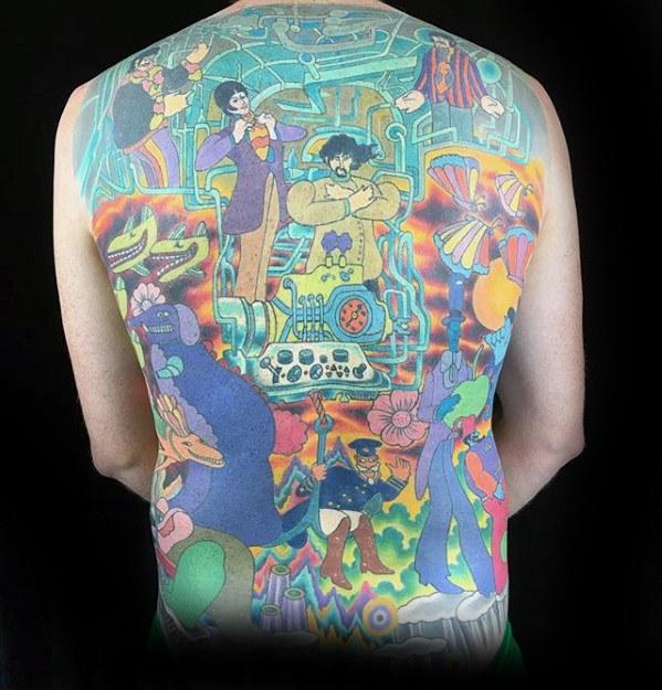 70 Amazing The Beatles Tattoo That You Can Rock Body Art Guru