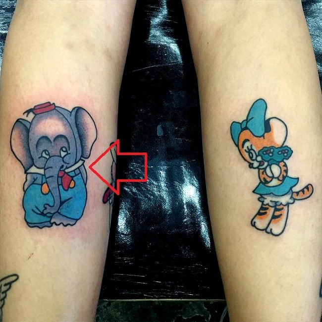 melanie martinez-elephant tattoo