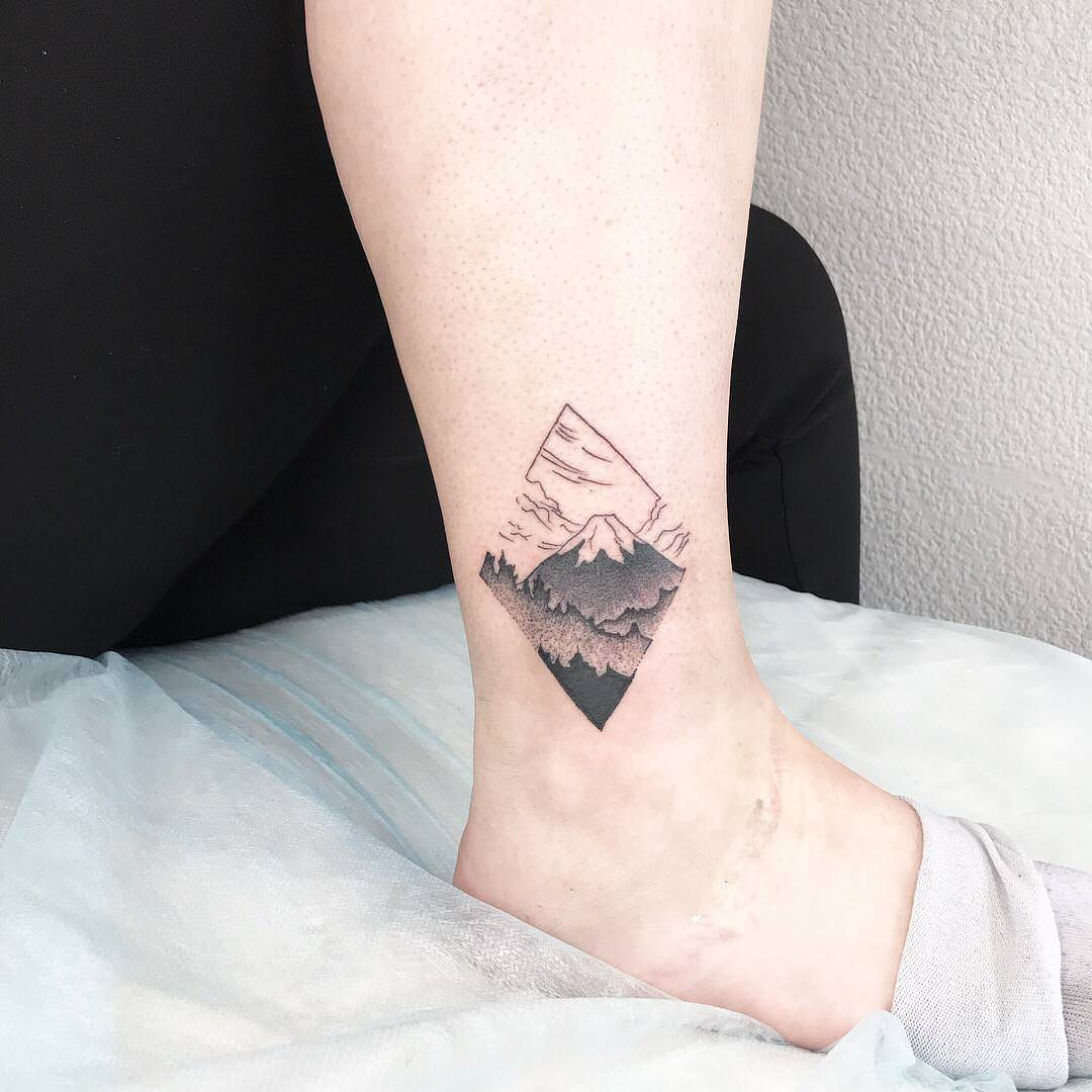 mountain tattoo