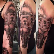 taj mahal tattoos
