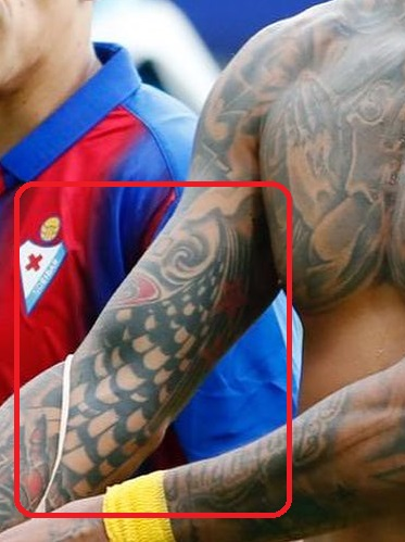 Arturo Right Arm Inside Tattoo