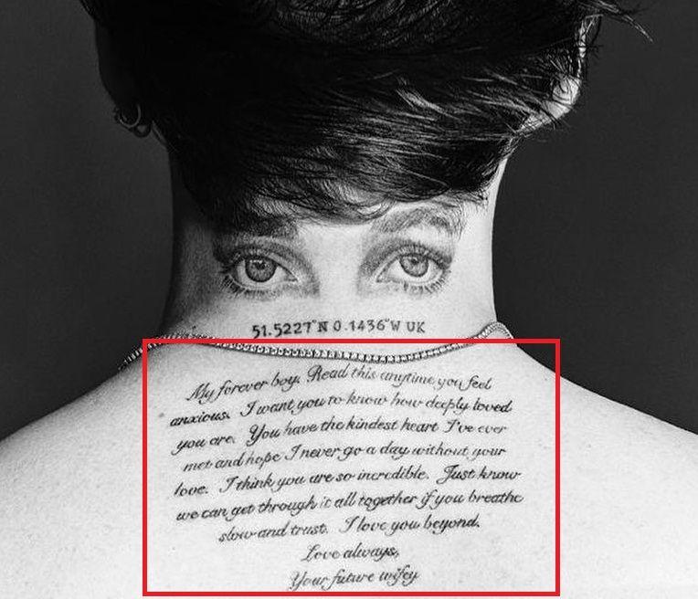 Brooklyn Beckham-Love Letter-Tattoo