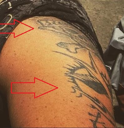Chris Töpperwien skull sparrow tattoo