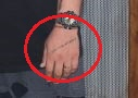 Chris Zylka hand tattoo
