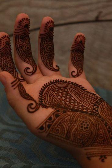 indian mehandi deisgns