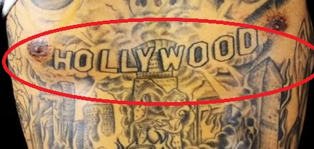 Kid Ink HOLLYWOOD Tattoo