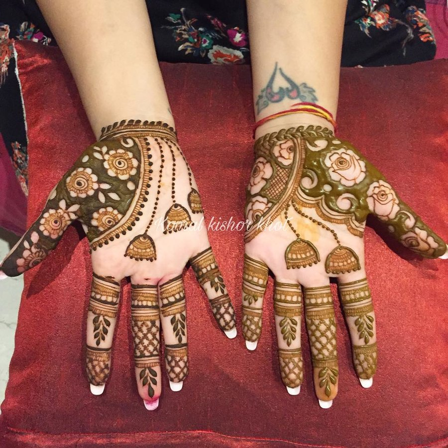70+ Simple Mehndi Designs For Hands \u2013 Body Art Guru