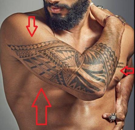 Prathamesh maulingkar tribal tattoo