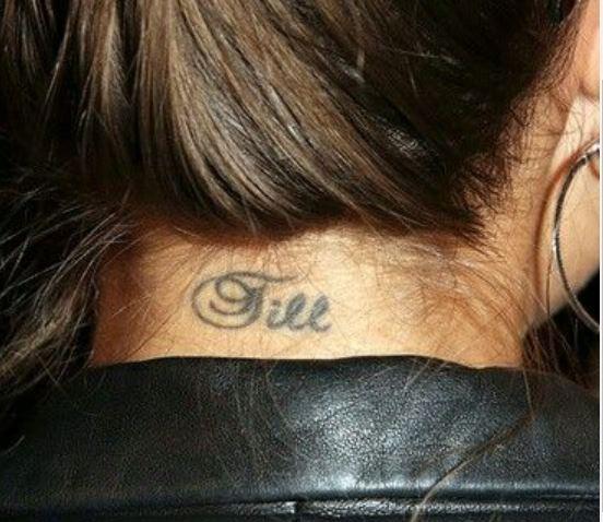 Sophia Till Tattoo
